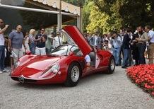 Alfa Romeo 33/2 Stradale vince la Coppa d'Oro al Concorso d'eleganza di Villa d'Este