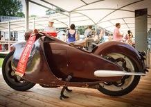 Le moto al Concorso d'Eleganza di Villa d'Este. Premiata la Moto Major
