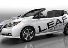 Nissan Leaf Open Car: l'elettrica diventa cabriolet
