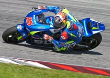 Suzuki: il video dei test di Sepang