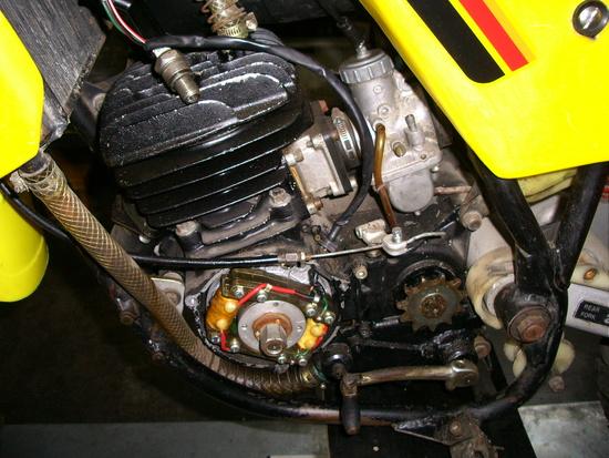 Ancillotti pre restauro, il dettaglio del motore Hiro