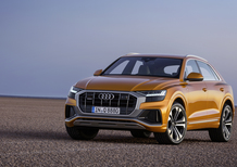 Audi Q8, il Luxury SUV con design da coupé che sfida BMW X7 [Video]