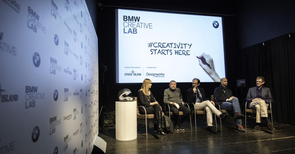 BMW Creative Lab con Stone Island