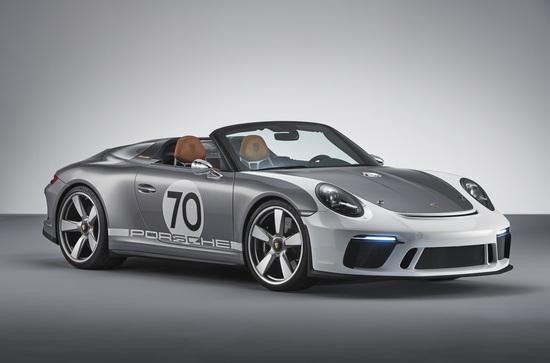 La nuova Porsche Speedster concept