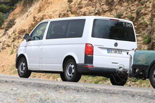 Volkswagen T7: ecco i muletti in strada (8)