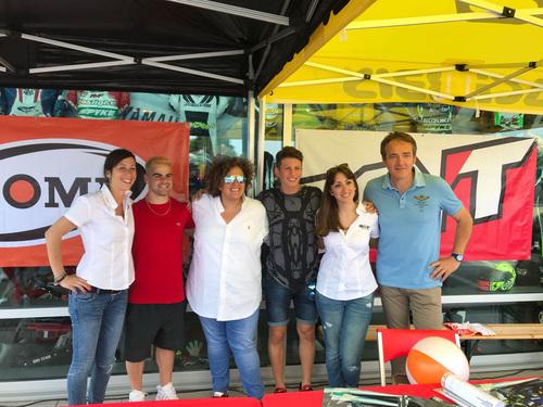Locatelli e Fenati da Valeri Sport, con Suomy e Kyt (3)