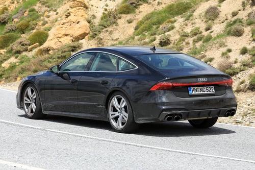Audi S7, le foto spia (5)