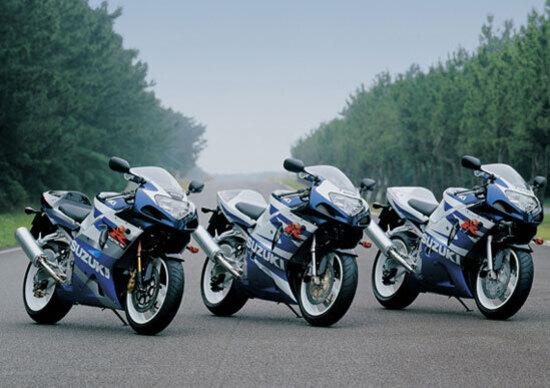 Suzuki festeggia i 25 anni della GSX-R
