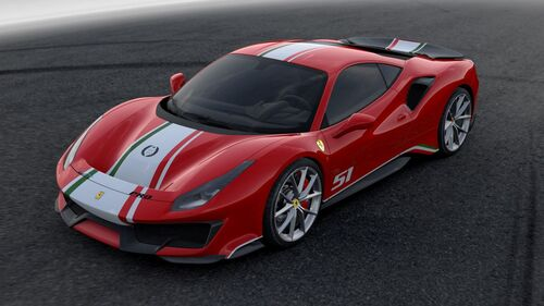 "Ferrari 488 Pista ""Piloti Ferrari"", dedicata a chi corre"