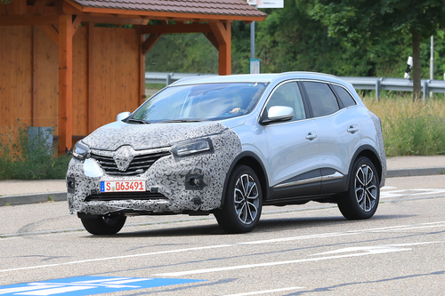 Renault Kadjar restyling, le foto spia  (3)