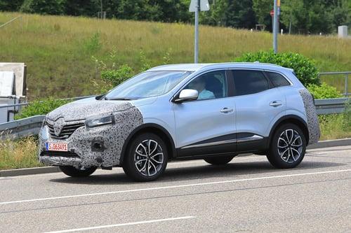 Renault Kadjar restyling, le foto spia  (6)