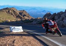 Ducati ritorna alla vittoria alla Pikes Peak con Dunne e la Multistrada 1260