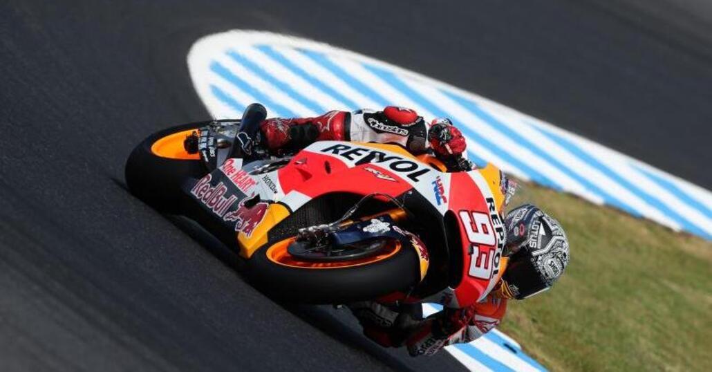 MotoGP. Phillip Island test, Marquez il più veloce del Day 3