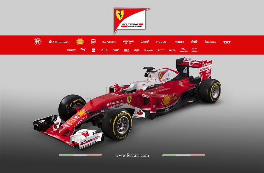 Formula 1, ecco la Ferrari SF16-H 2016!