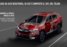 Honda CR-V 2019, il salto tecnico del nuovo SUV giapponese
