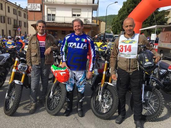 Ecco il dream team Fantic Motor 125 di Moto.it con Sgorbati, Copioli e il Perfetti