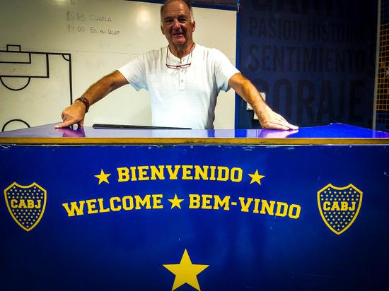 A Buenos Aires c'è tempo anche per il calcio, con la visita alla Bombonera