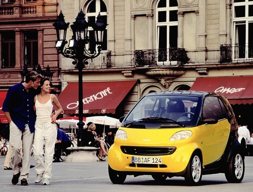 Smart, 20 anni fa nasceva la city car voluta da Mr Swatch (9)