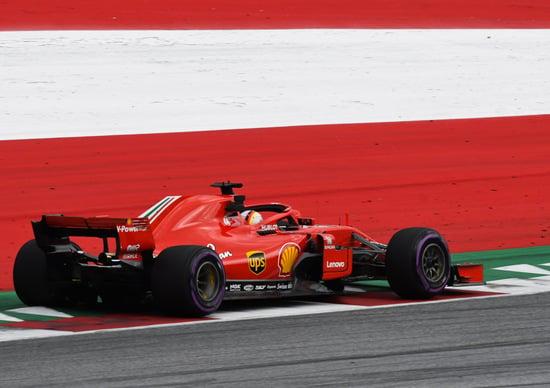 F1, GP Austria 2018: Vettel, tre posizioni di penalità