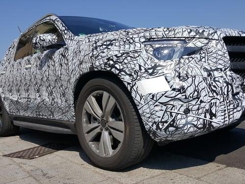 Nuova Mercedes GLE 2019: 3 modelli preserie sul lago di Como (3)