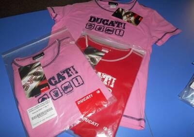 T-SHIRT DONNA ROSSA Ducati donna - Annuncio 6305994