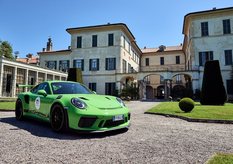 70esimo Porsche, Sportscar Together - The Italian Tour: tutte le foto