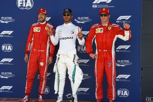 F1, GP Silverstone 2018: pole per Hamilton. Secondo Vettel (8)