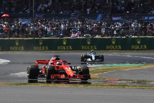 F1, GP Silverstone 2018: vince Vettel. Terzo Raikkonen (2)