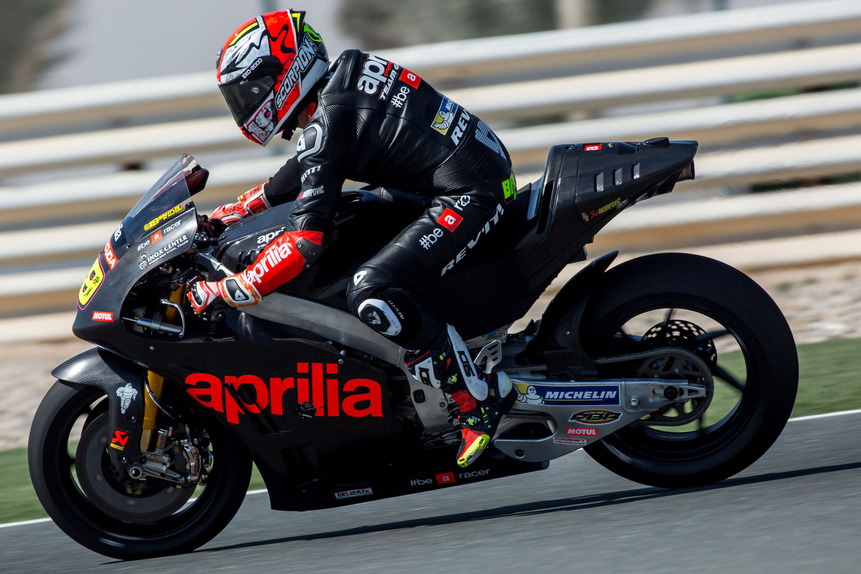 MotoGP. Conclusa la tre giorni di test in Qatar per Aprilia (2)