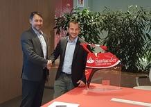 Yamaha rinnova con Santander