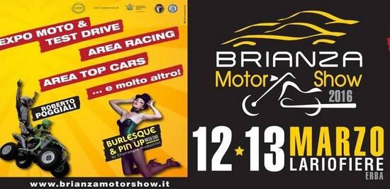 Brianza MotorShow 2016: a Lariofiere sabato 12 e domenica 13 marzo