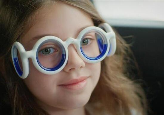 Citroen, ecco gli occhiali anti mal d'auto