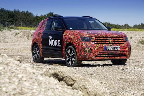 Volkswagen T-Cross, eccola (quasi) svelata (5)