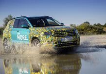 Volkswagen T-Cross, eccola (quasi) svelata