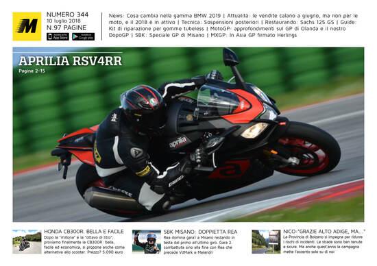 Magazine n° 344, scarica e leggi il meglio di Moto.it