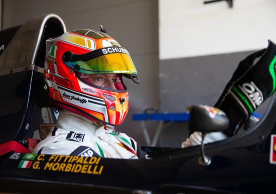 Mirko Bortolotti al volante della Minardi M191B