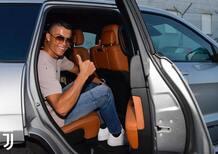 Cristiano Ronaldo a Torino: primo contatto con Jeep [Video]