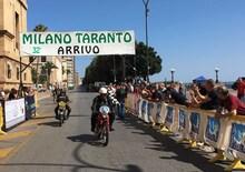 Con l'ultima tappa si è conclusa la Milano Taranto 2018