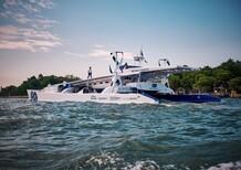 Arriva a Venezia il primo catamarano a idrogeno al mondo