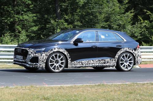 Audi RS Q8, le foto spia (9)