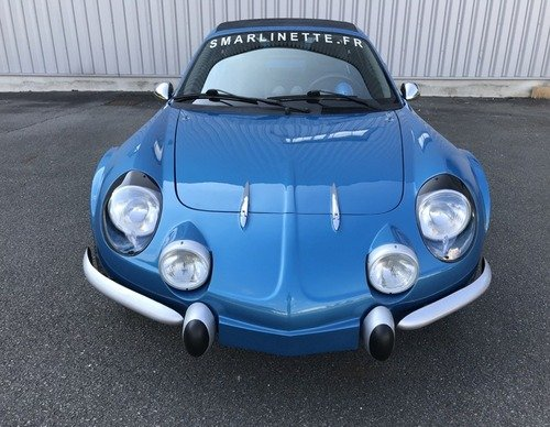 Smarlinette: un po' Alpine A110, un po' Smart Roadster (7)