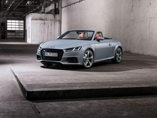 Il nuovo volto della Audi TT