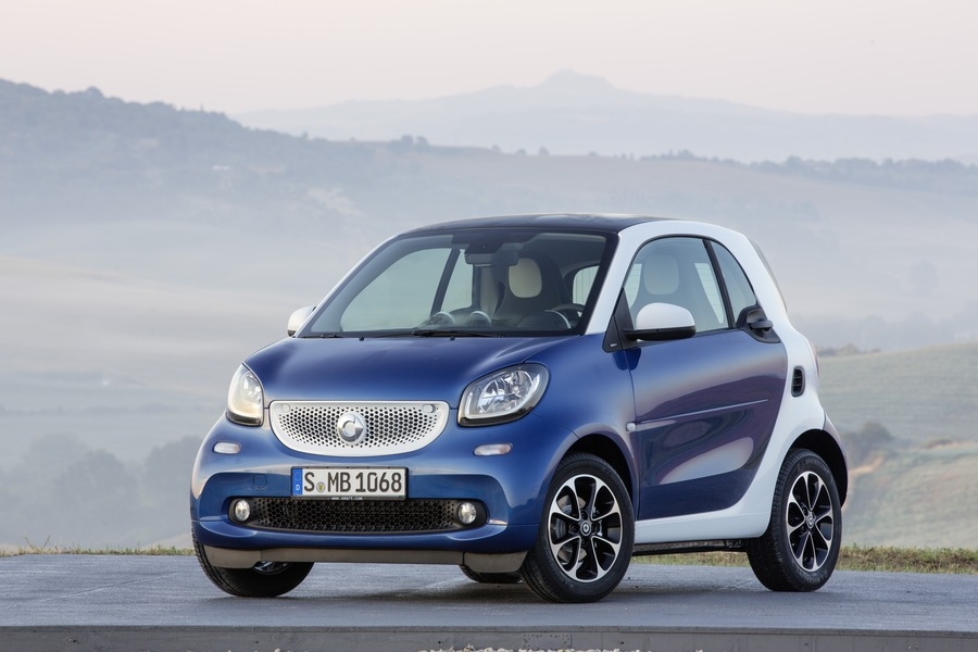 smart fortwo 90 0.9 Turbo twinamic parisblue Passion (3)