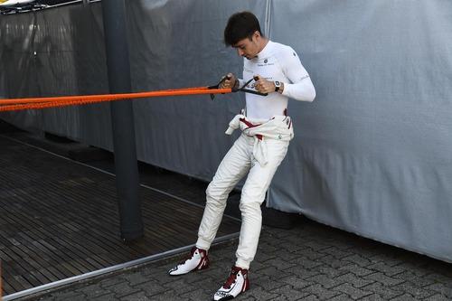 F1, GP Germania 2018, FP3: Leclerc al top sotto la pioggia (5)