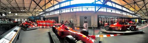 F1: visita al museo dedicato a Michael Schumacher (4)