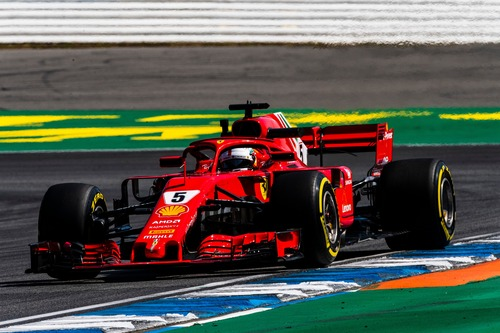 F1, GP Germania 2018, Vettel: «Che feeling con la macchina»  (2)