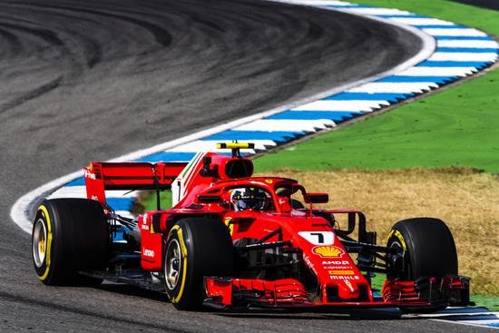 Terzo posto per Kimi Raikkonen in Germania