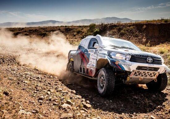Cross-Country & Baja. Baja Aragon. Vincono Vladimir Vasilyev (Toyota) e Michael Metge (Sherco)
