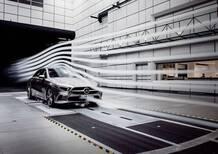 Mercedes Classe A sedan. La più aerodinamica di serie
