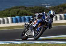 SBK. Guintoli è il più veloce nelle cronometrate di Phillip Island